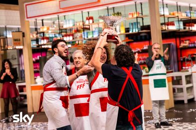 Family Food Fight, vince la finale la famiglia Magistà