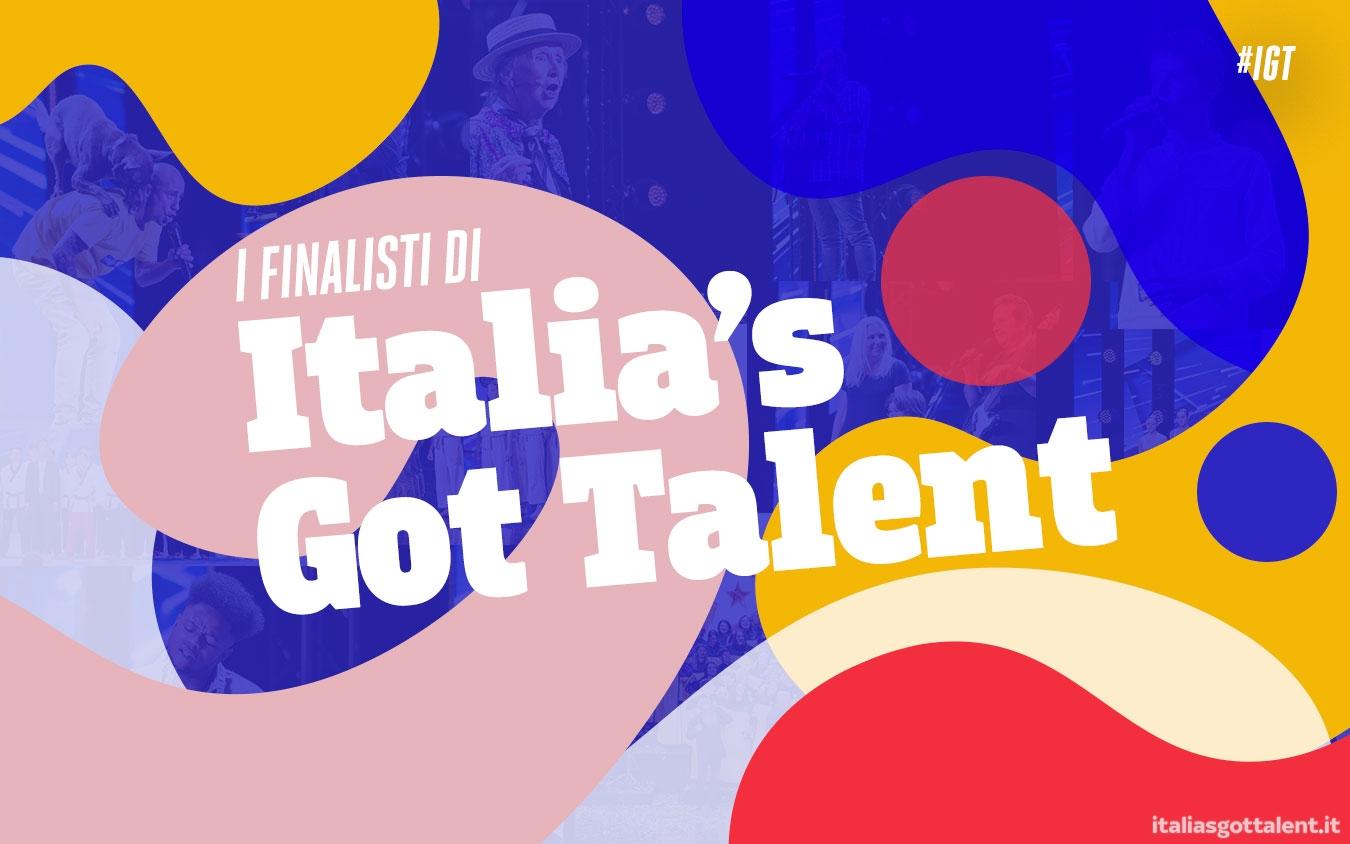 I finalisti di Italia's Got Talent 2020