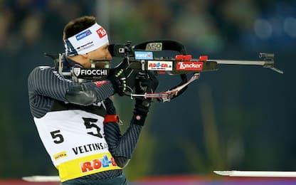 Biathlon, l'italiano Windisch terzo a Oberhof
