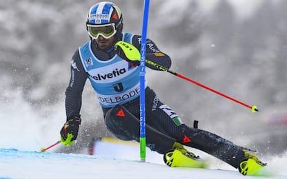 Slalom Adelboden, secondo posto per Moelgg