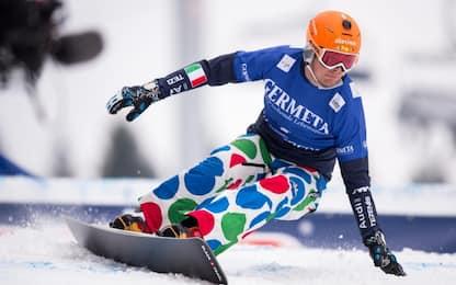 Snowboard, fantastico Mick: trionfa a Bad Gastein