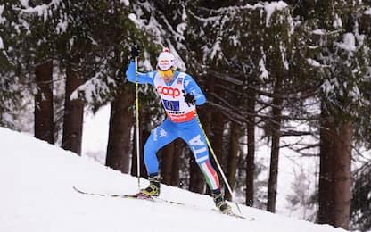 Sci, staffetta sprint: Pittin e Costa terzi