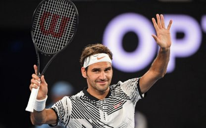 Aus Open, re Federer è tornato. Seppi e Lorenzi ok