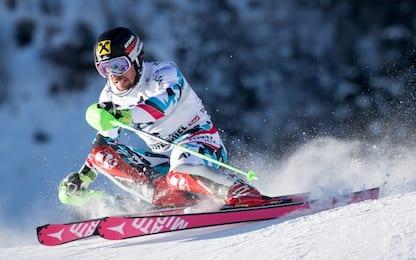 Slalom, Hirscher show. Ryding nella storia