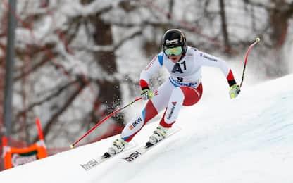 Garmisch, Gut sempre più leader in Super G