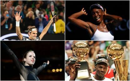 Federer e gli altri, quando l'età non conta