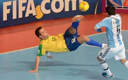 Falcão, roba dell'altro calcio: il re del futsal