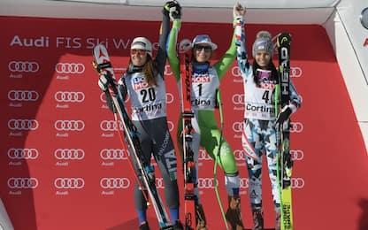 Mondiali St. Moritz, si parte col Super G donne