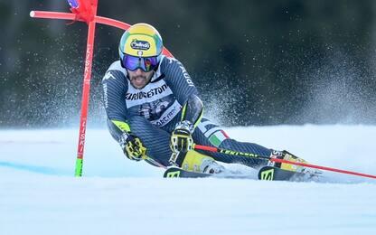 St. Moritz, De Aliprandini rinuncia al gigante