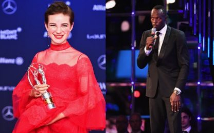 Laureus Awards, premiati Usain Bolt e Bebe Vio