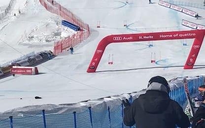 Mondiali sci: cade camera aerea, sfiorata tragedia
