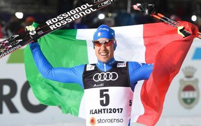 Pellegrino, l'Italia torna a sorridere nello sci