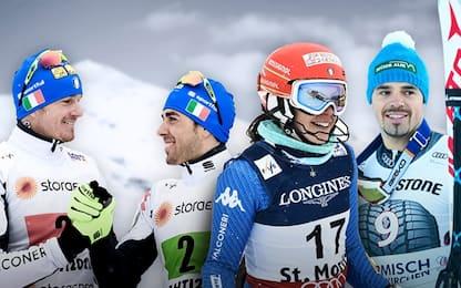 L'Italia sugli sci, una montagna di soddisfazioni