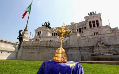 Ryder Cup a Roma sarà dal 29/9 all'1/10 del 2023
