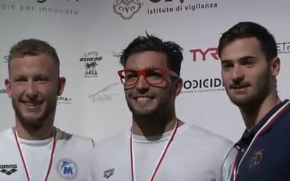 Nuoto, super Detti a Milano: record nei 400 sl