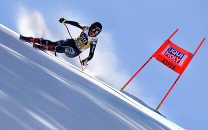 Discesa di Aspen, Goggia 3^. A Stuhec gara e coppa