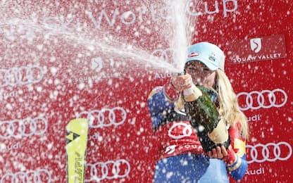 Sci, a Mikaela Shiffrin la prima Coppa del mondo