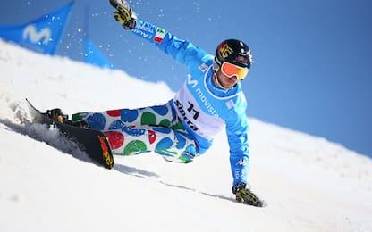 Snowboard, March 2° nello slalom parallelo