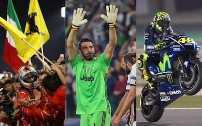 "Ferrari, Juve e Valentino: il ""Triplete"" d'Italia"