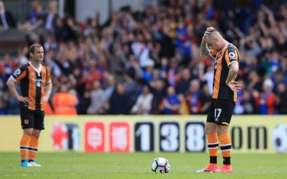 Premier, l'Hull City perde e retrocede