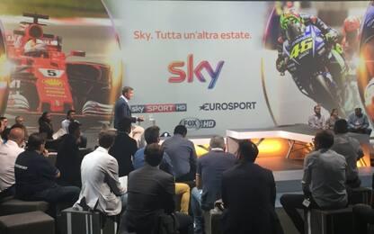L'estate di Sky Sport: oltre 2000 ore live