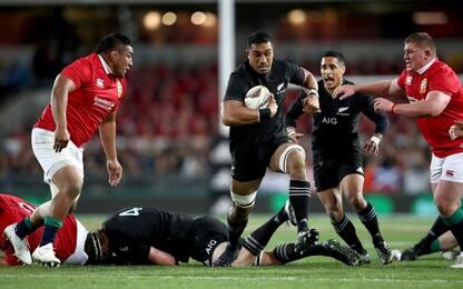 All Blacks-Lions, primo round alla Nuova Zelanda