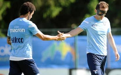 Lazio, 9 gol al Cadore. A segno anche Marusic