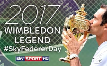 #SkyFedererDay: un canale dedicato a Re Roger