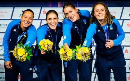 Mondiali, il fioretto è d'oro! Bronzo sciabola