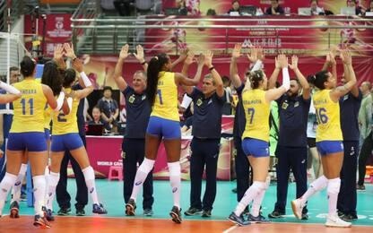 Grand Prix, Italvolley ko in finale con il Brasile