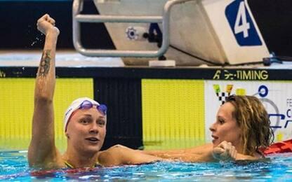 Energy for Swim, Sjostrom batte Fede. Detti ok