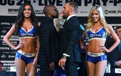 Boxe: Mayweather vs McGregor, il match del $ecolo