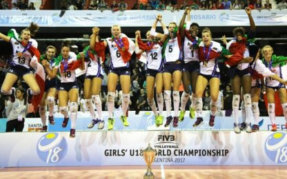 Italvolley Mondiale: l'Under 18 donne è campione!