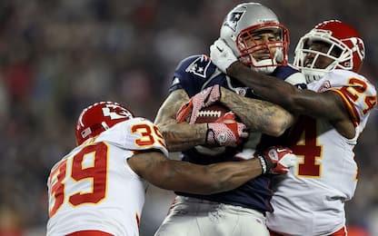 NFL: Hernandez, danni cerebrali di un 67enne