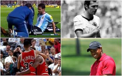 Non solo Gago: 10 atleti più forti del dolore