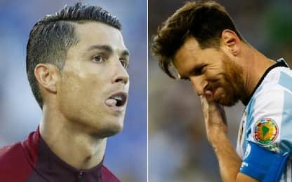 Messi e CR7 si giocano il Mondiale LIVE su Sky