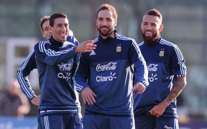 Argentina, Higuain ancora out dai convocati