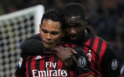 """Bacca: """"Ho giocato nel peggior Milan di sempre"""""""