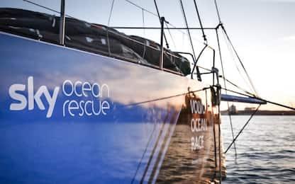 """""""Sky Ocean Rescue"""" alla Volvo Ocean Race 2017-2018"""