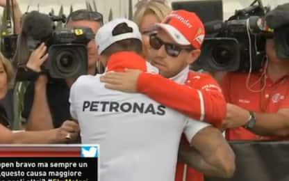 """Vettel: """"Hamilton è stato il migliore"""""""