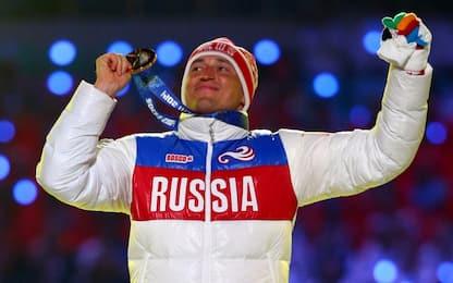 Doping, Legkov bandito dai Giochi