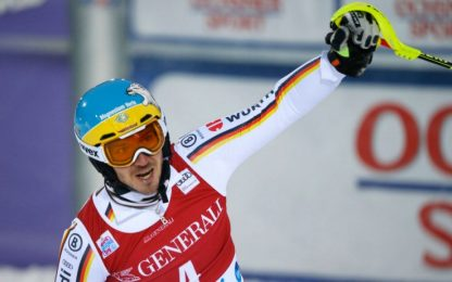 Sci, slalom uomini: vince Neureuther, Moelgg 9°