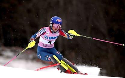 Slalom donne: vittoria Shiffrin. Azzurre dietro