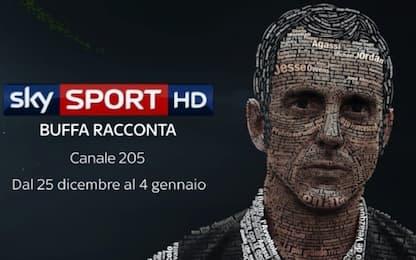 """De Rossi: """"Buffa il più grande narratore di sport"""""""