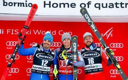 Combinata Bormio: Fill 2°, Paris fuori in slalom