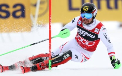 Hirscher vince slalom Zagabria, fa 50 come Tomba
