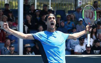 Australian Open, avanzano tre giovani azzurri