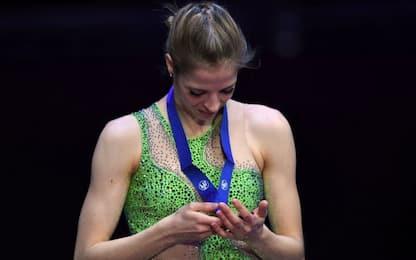 Kostner infinita: bronzo europeo da record