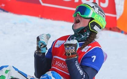 Snowboardcross, Moioli è seconda a Bansko