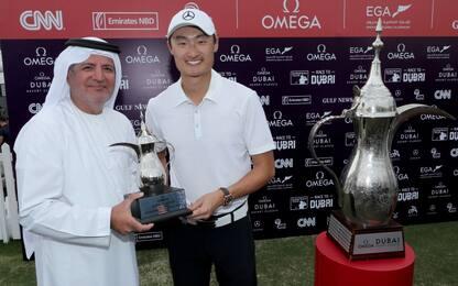 Golf, Haotong Li batte McIlroy e vince a Dubai